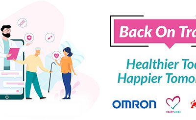 OMRON, HeartVoice and Great Eastern partner to encourage healthier living amid COVID-19